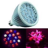 54W Full Spectrum LED Grow Light E27 Лампа Лампа для крытого Растение Цветочная гидропоника