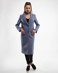 Пальто женское демисезонное  1256-1, 42-50