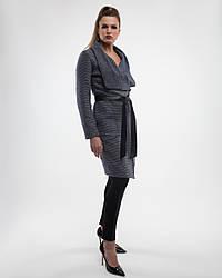 Пальто-кардиган  женское демисезонное 1307, 44-54