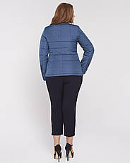 Куртка женская демисезонная  батал 3638,  48-58р., фото 3