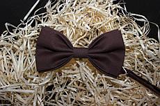 """Краватка-метелик коричневого кольору """"Рим"""""""