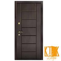 """Входные двери в квартиру Канзас серии """"Премиум"""" (венге тёмный)"""