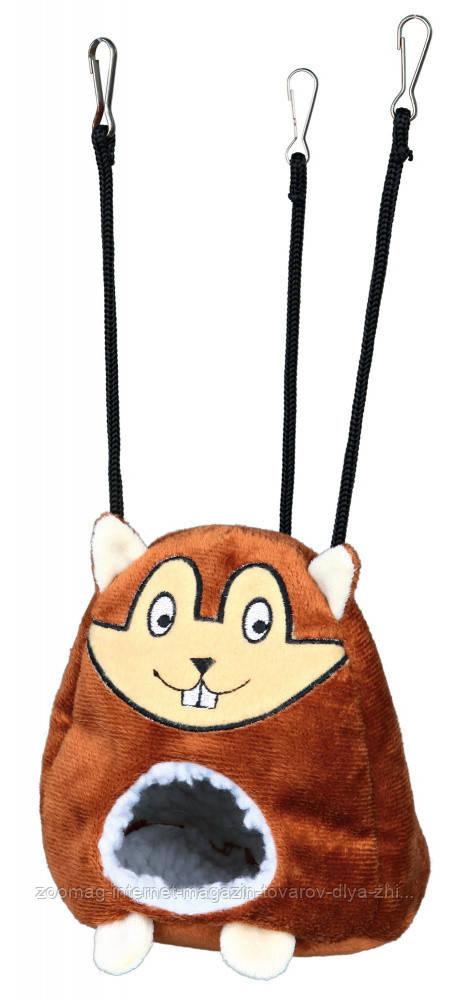 Гамак-домик с мордочкой хомяка для хомяка 11*14см, Trixie™
