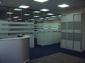 Стеклянные перегородки для офиса