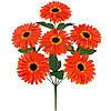 Букет искусственных цветов Гербера цветная , 38 см