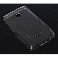 Прозрачный силиконовый чехол для  Nokia Lumia 532