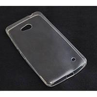 Прозрачный силиконовый чехол для  Nokia Lumia 640