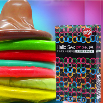Презервативы Hello Sex 10шт, фото 2