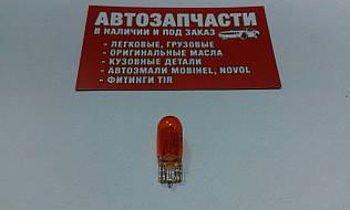 Лампа без цоколя 12V 5W (оранжевая)