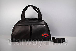 Сумка Converse logo красная вышивка