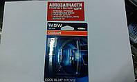 Лампа без цок. 12V 5W синие Osram 2 шт.