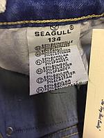 Джинсовые брюки для мальчиков оптом, Seagull, 134-164 рр.. арт.CSQ-89811, фото 4