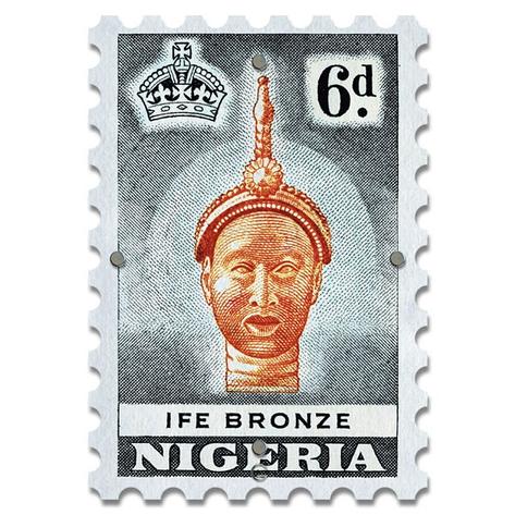Картина на Стекле Почтовая Марка Nigeria. Акция: Бесплатная доставка!, фото 2