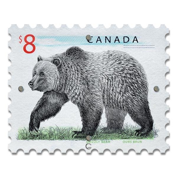 Картина на Стекле Почтовая Марка Canada. Акция: Бесплатная доставка!