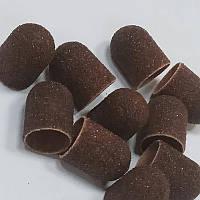 Колпачок песочный одноразовый 13мм для педикюра 120 грит 20 шт