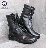 Ботинки берцы облегченные черные DMS-5 демисезон