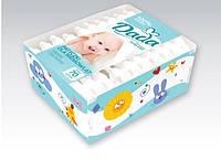 Детские ватные палочки Dada для младенцев, 70 шт