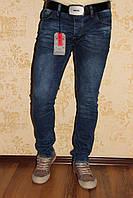 """Мужские джинсы Марио Ковали """"Mario Covali"""" зауженные с потёртостями."""