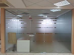 Офисные стеклянные перегородки, изготовление и монтаж
