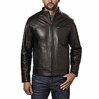 BOSTON HARBOUR фирменная куртка р.56-58 натуральная кожа люкс из США