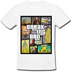 Футболка Breaking Bad - GTA Style (белая)