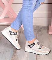 Женские кроссовки из натуральной кожи, фото 1