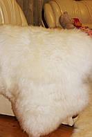 Шкура овечья натуральная, белая