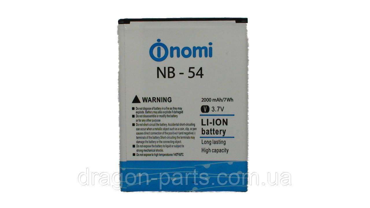 Аккумулятор Nomi i504 (АКБ, Батарея) NB-54, оригинал