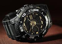 Часы Q&Q DE10-502 / Коллекция Attractive / Спортивные часы / Куку / QQ / Двойной циферблат / Украина Одесса / Японские наручные часы / Кью энд кью /