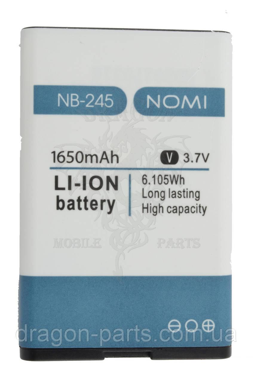 Акумулятор (АКБ, Батарея) NB-245 Nomi i245 X-Treme, оригінал