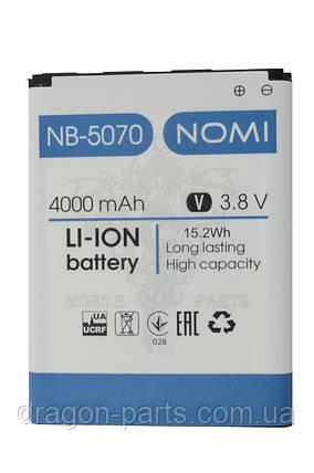 Аккумулятор (АКБ, Батарея) Nomi i5070 Iron-X  NB-5070 , оригинал, фото 2