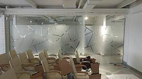 Декоративные перегородки из закаленного стекла, изготовление и установка
