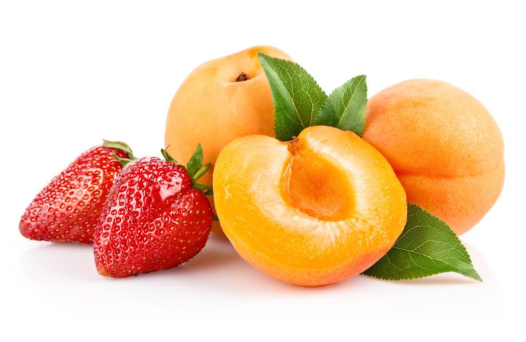 Клубника-абрикос