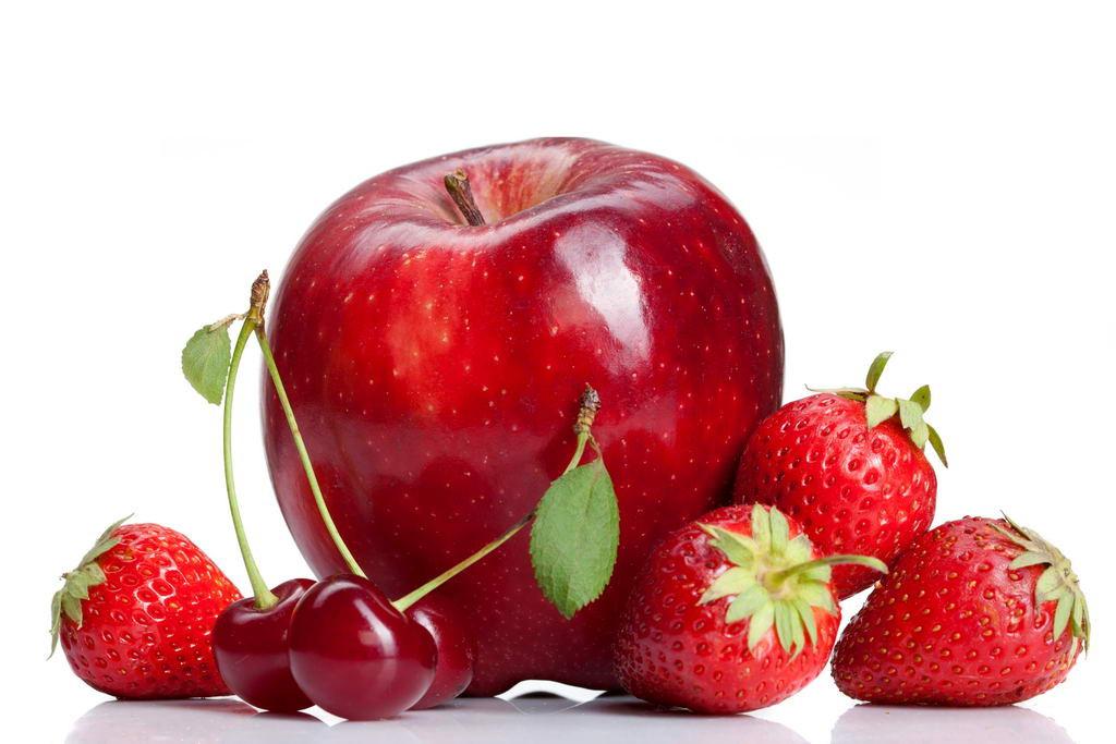 Клубника-яблоко