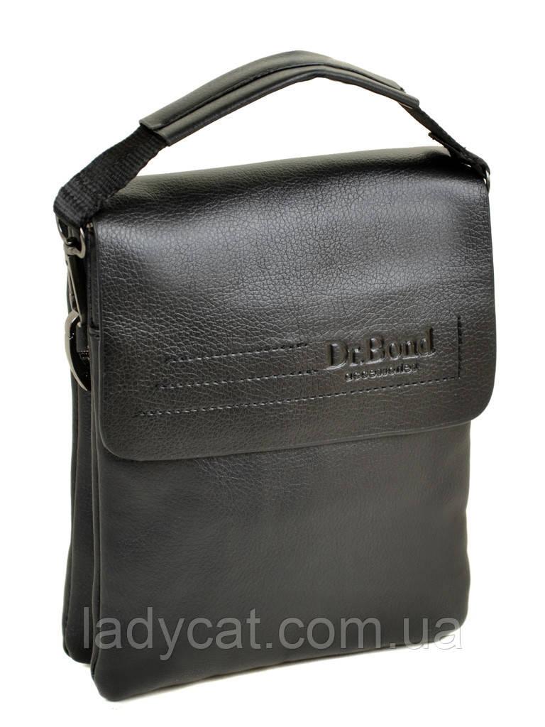 Мужская сумка-планшет DR. BOND 208-1 black, фото 1