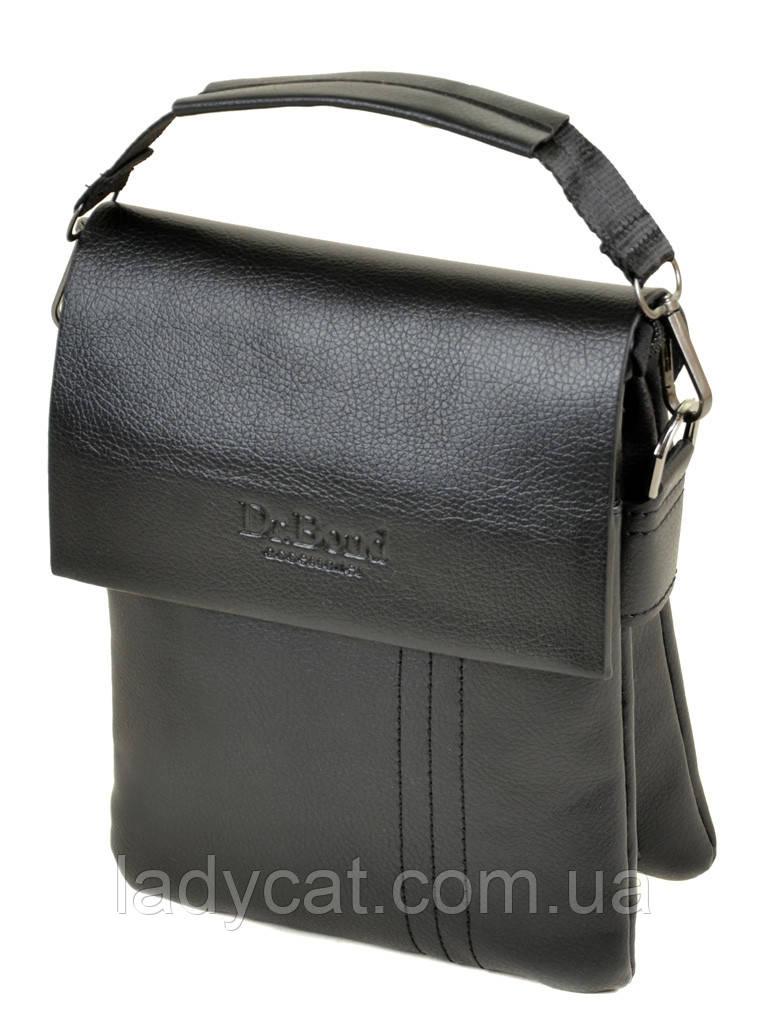 Мужская сумка-планшет DR. BOND 305-2 black, фото 1