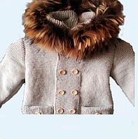 Пальто (унісекс, з і без хутра), нитки,