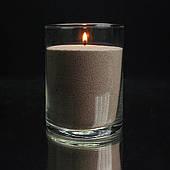 Коричневые насыпные свечи 1 кг + 1 м фитиля