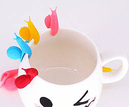 Прищепка для нотаток, пакетиків чаю Равлик
