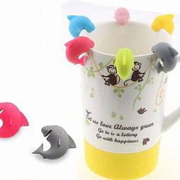 Прищепка для нотаток, пакетиків чаю Акула