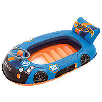 "Надувной бассейн Bestway 93405 ""Hot Wheels"", 112х71 см (Y)"