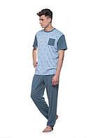 Мужская пижама с брюки 014/001