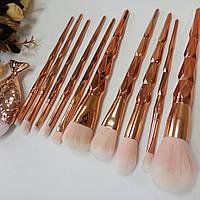 Кисти для макияжа набор 11 шт
