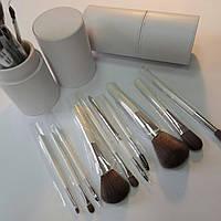 Кисти для макияжа набор 11 шт в чехле