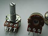 Потенциометр WH148 для пультов b20k  (20kb) 20mm, фото 4