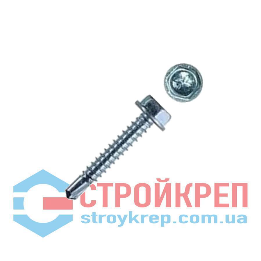Саморез кровельный по металлу со сверлом WS DIN 7504 K, 4,8х19