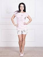 Домашняя одежда женская_Пижамы женские_Пижама для женщины 596/S/розовый в наличии S р., также есть: L,M,S,XL, Роксана_ЦС