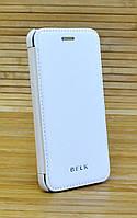 Чехол-книжка кожаный на Айфон, iPhone 6 \ 6s BELK белый