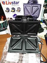 Сэндвичница тостер Livstar LSU-1212 (800W), фото 2