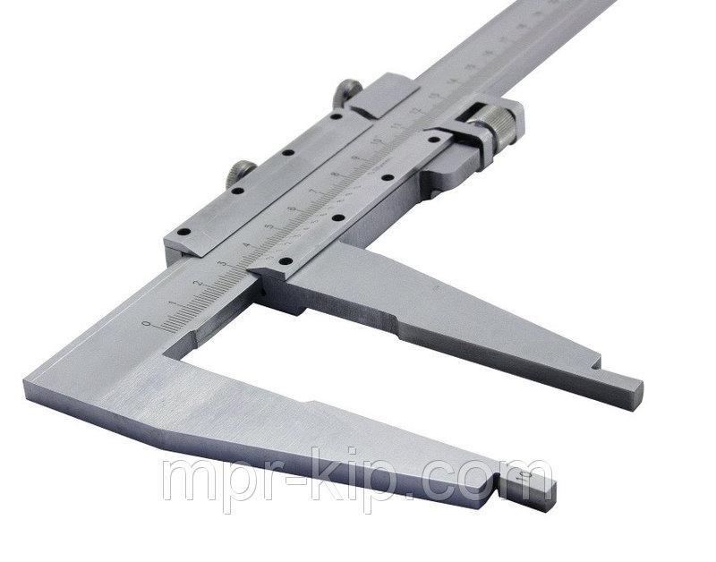 Штангенциркуль нониусный ШЦ-III-600 (600 мм; цена деленя 1 мм; губки 90мм)